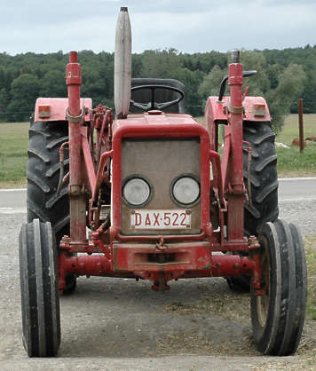 tractor farm machinery vehicle old