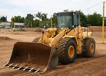 vehicle contruction shovel big bulldozer
