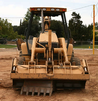 vehicle contruction tractor shovel bulldozer big