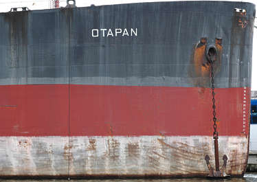 boat hull ship metal paint