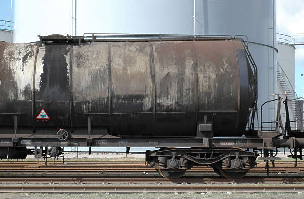 train tank cargo dirty