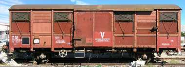 train box car boxcar cargo