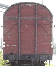 train cargo carriage boxcar vehicle