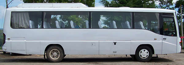 vehicle bus autobus coach