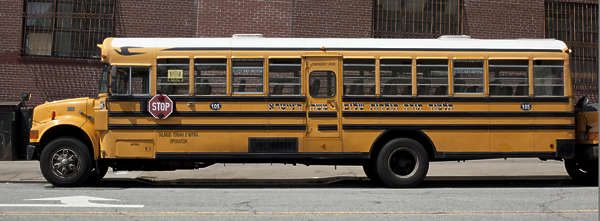 vehicle truck school bus new york