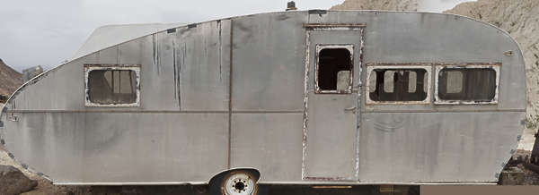 USA nelson ghost town ghosttown camping caravan trailer vintage classic old