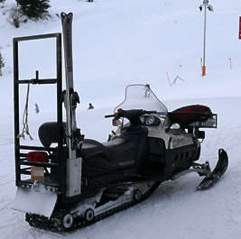 vehicle snow scooter mobile snowscooter snowmobile