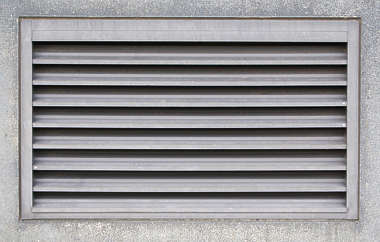 vent grate isolated