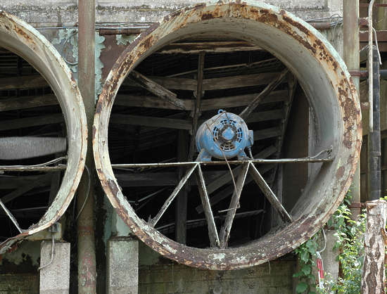 machine machinery vent propeller