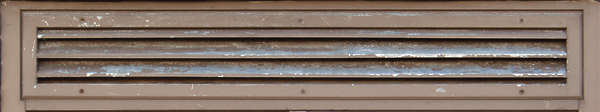 vent ventilation grate metal paint scratches