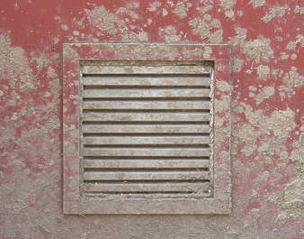 vent ventilation grate metal dirty mud splatter