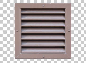 vent ventilation grate clean metal painted isolated