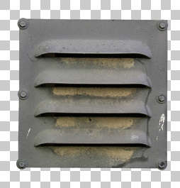 vent metal grate isolated