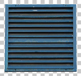 vent ventilation grate metal painted clean isolated