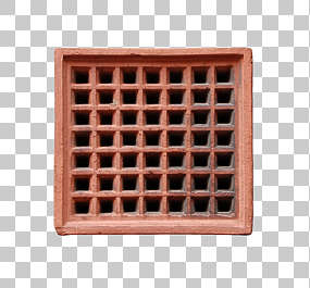 vent ventilation grate stone isolated