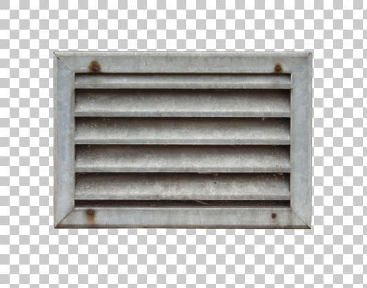 vent ventilation grate metal galvanized dirty isolated