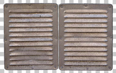 vent ventilation grate metal dirty small isolated