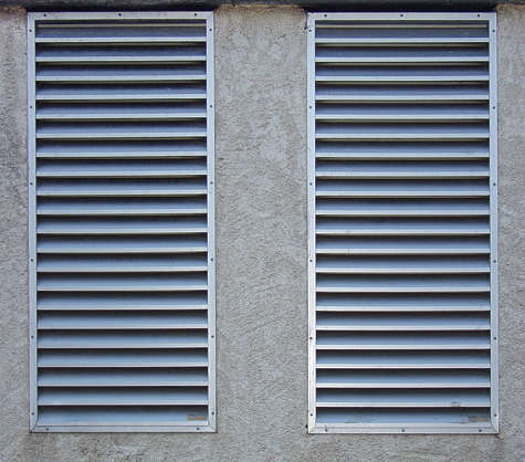 vent ventilation grate metal clean isolated
