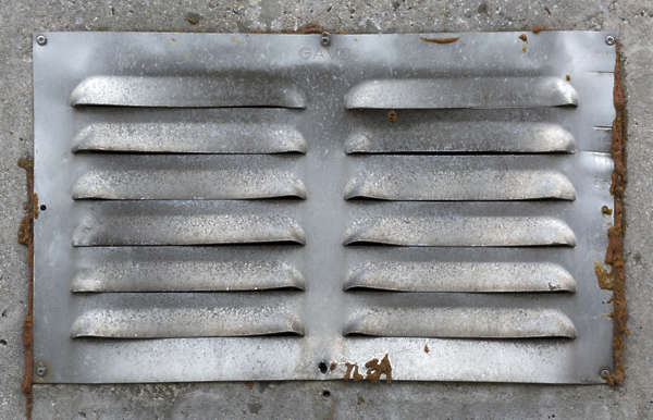 metal vent grate airco old