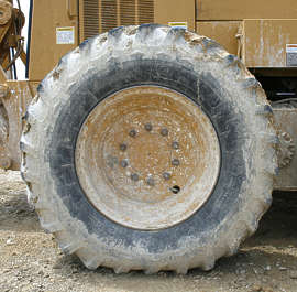 wheel big dirty mud tyre tire