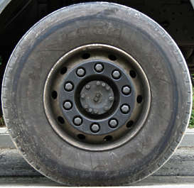 wheel large truck tyre tire