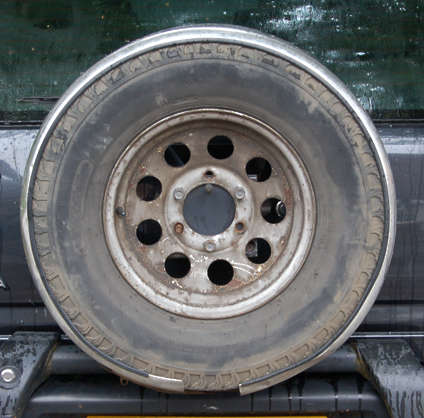 wheel spare jeep tyre tire