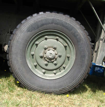 wheel truck big military tyre tire