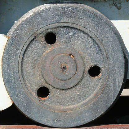 wheel train circle metal round tyre tire