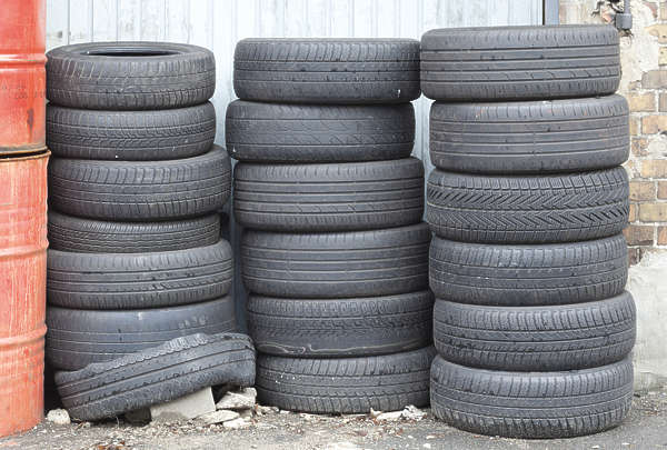 tires tire stack junk tyre