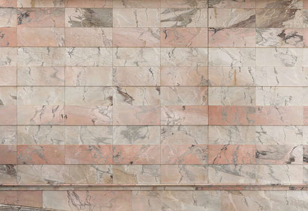 marble colored tiles pink