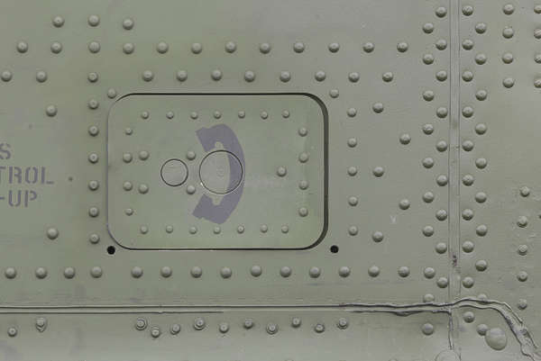 aircraft panel rivet rivets chinook helicopter metal panel door hatch telephone sign
