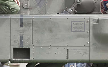 aircraft panel rivet rivets apache helicopter metal