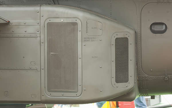 aircraft panel rivet rivets apache helicopter metal vent grate