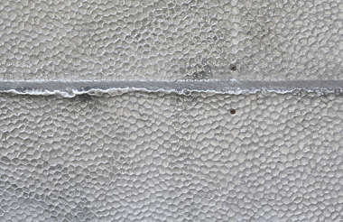 metal dented embossed dents