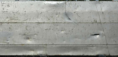 metal plate panel bare scratches aluminium