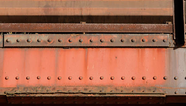 metal seam rivet rivets bridge