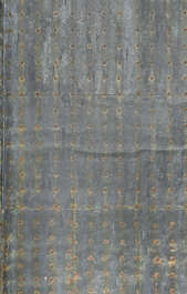metal copper bronze sheet bare old worn corroded corrosion japan
