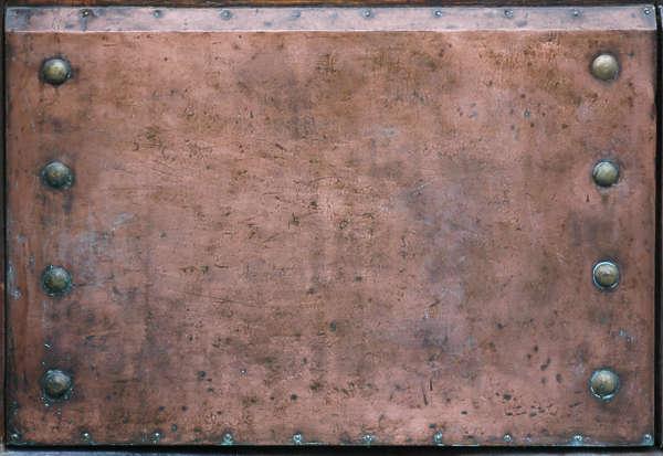 Bronzecopper0010 Free Background Texture Metal Copper Scratches Spots Nails Rivets