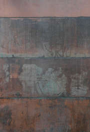 metal copper corrosion old