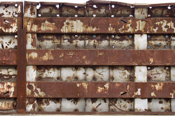 rust bulkhead metal