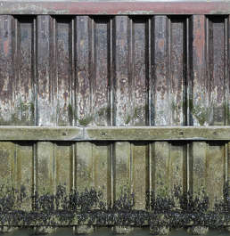 metal plates dock wall bulkhead water wall