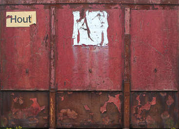 container front rust