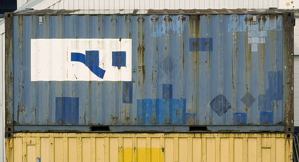 container metal side