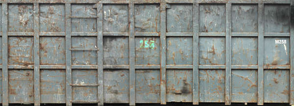 metal container rust panels