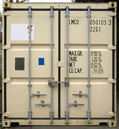 container side door