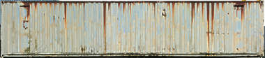 container metal side rust rusted