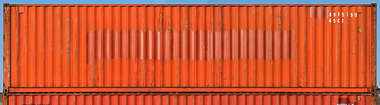 container side shipping metal rusted