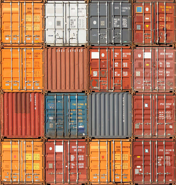 Metalcontainers0137 Free Background Texture Container