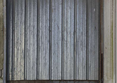 Metal plates galvanized bare