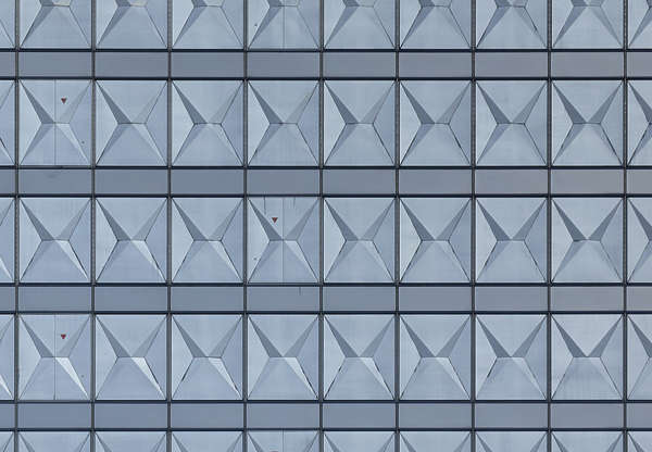 japan asia metal plates highrise building facade